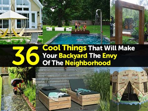 fun things to put in your backyard 36 cool things that will make your backyard the envy of