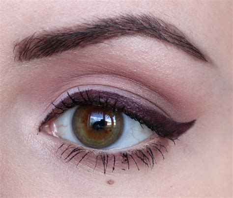 eyeliner tutorial gel liner kittenmoustache video burgundy eyeliner gel liner tutorial