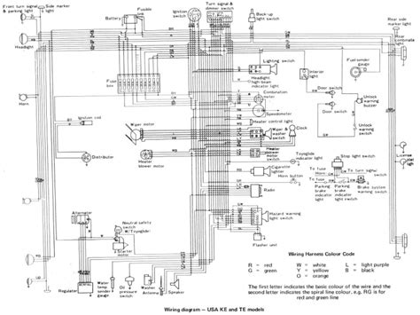toyota electrical wiring diagrams wiring diagram schemes