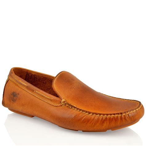 loafers shoes mens timberland 70544 heritage leather driving slip on