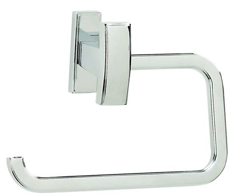 polished chrome bathroom accessories alno creations shop a7566 pc toilet paper holder