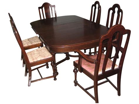 vintage used dining table chair sets chairish room not
