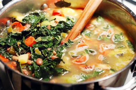 Kale And Spinach Detox Soup by Detox Soup Recipe A Well Celery And Spinach