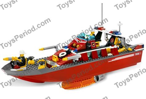 lego boat pieces lego 7906 fire boat set parts inventory and instructions