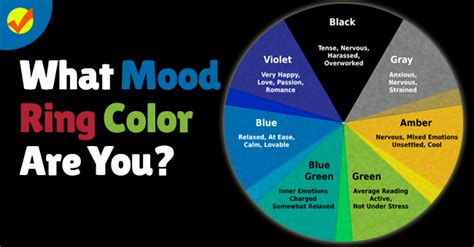 mood ring colors meaning general resumes what mood ring color are you quiz social