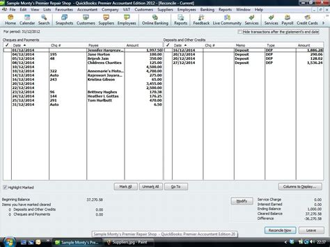 bank account uk bank reconcilation in quickbooks quickbookstraininguk