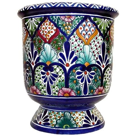 Mexican Planters Outdoor by 17 Best Images About Talavera Garden Planters On