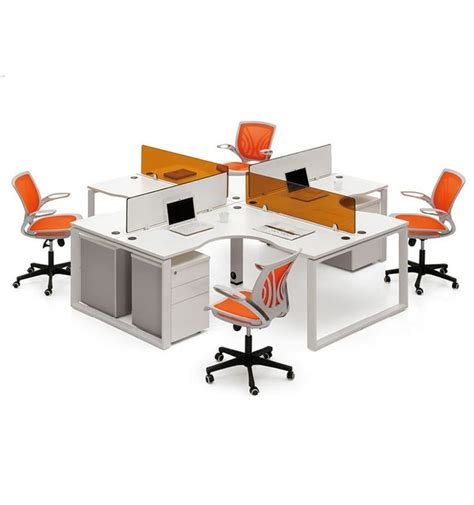 Buy Office Desks Factory 2 Person Workstation Modular Wooden Office Workstation Divider Office Furniture