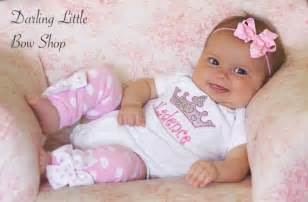 Baby girl outfit princess outfit newborn set take me home