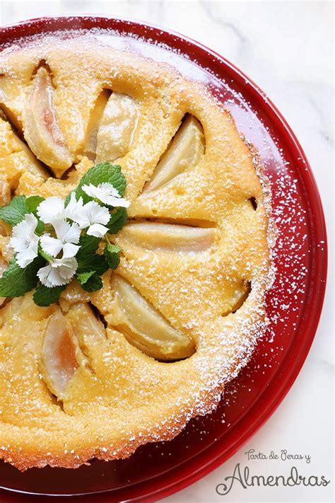 tartas faciles y horno dia madre tarta de peras y almendras para mam 225 chokolat pimienta