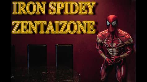 iron spider man unboxing zentai zone suit youtube
