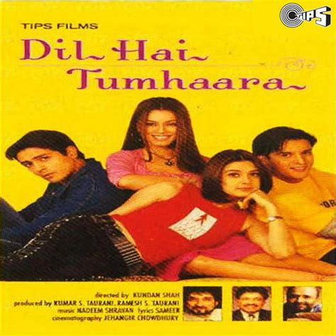 film india dil hai tumhara dil hai tumhaara 2002 movie mp3 songs bollywood music