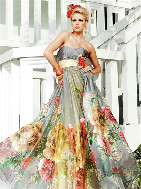 chagne colored flower dress 17 beautiful flower dresses beep