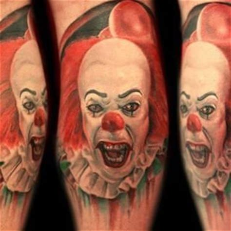 tattoo nightmares guests awesome pennywise tattoo by current easthton guest