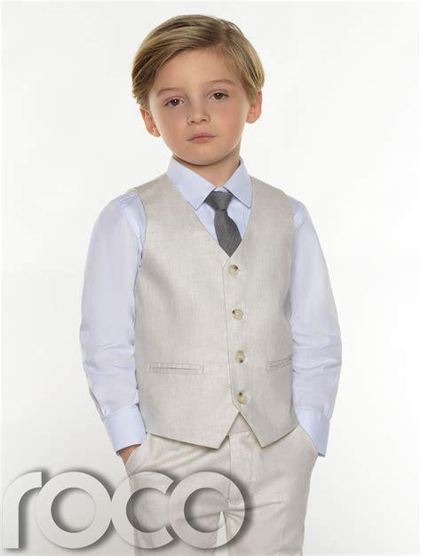completi per completi per ragazzi ragazzi lino abiti paggetto vestito