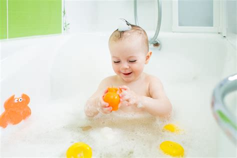 baby in a bathtub how to keep your baby safe during bathtime splashbook