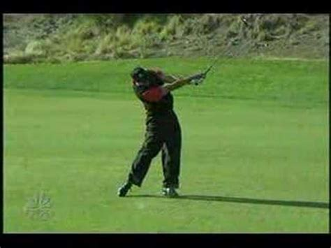 tiger wood swing slow motion tiger woods 3 wood target 2007 slow motion youtube