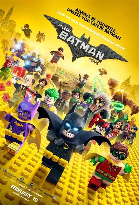 film lego petualangan poster terbaru the lego batman movie penuh dengan para