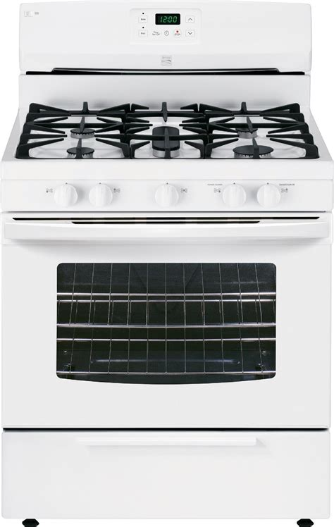 Oven Gas 2 Tingkat kenmore 73432 4 2 cu ft gas range w broil serve