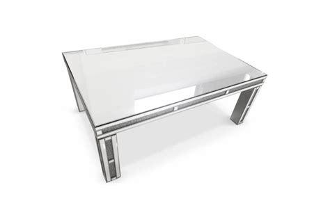 table en verre grande table basse design avec plateau en verre