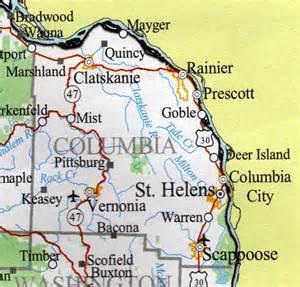 columbia county map oregon oregon hotels motels