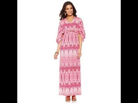 Velove Maxy Dress Hq 1 kyle by kyle richards flutter sleeve maxi dress