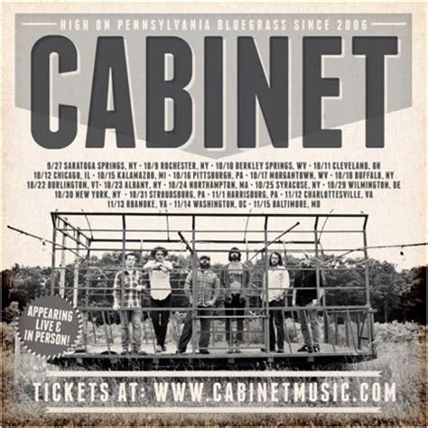 s w cabinets winter tour dates cabinet extends fall tour