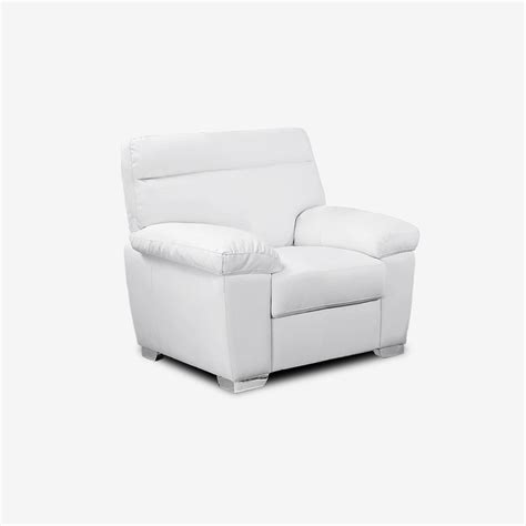 white leather armchair alto modern high back leather sofa collection in white