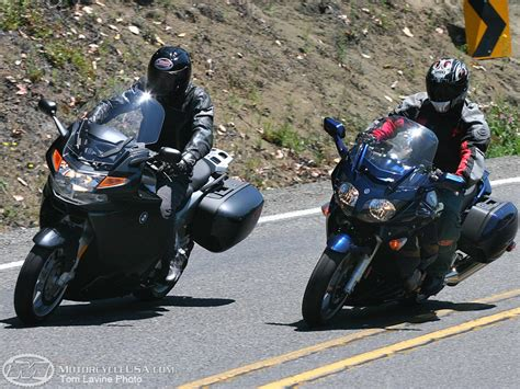 motorcycle touring 2006 super sport touring faceoff motorcycle usa