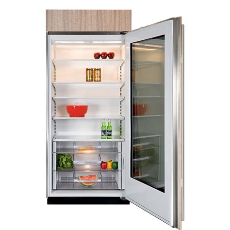 36 door refrigerator sub zero bi 36rg o lh 36 quot built in all refrigerator