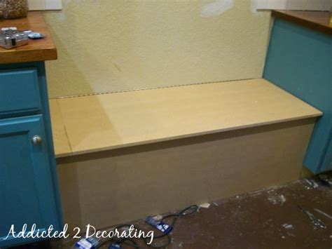 Movable Kitchen Island With Seating by How To Build A Banquette Seat With Storage
