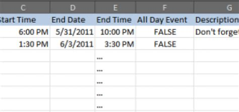 csv format to import to google calendar how to import a csv file to google calendar