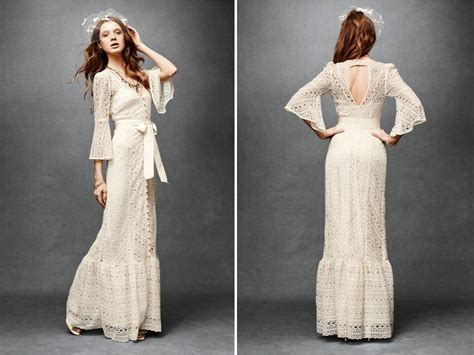Vintage Chic Wedding Dresses by Ivory Lace Vintage Chic Column Wedding Dress With Open