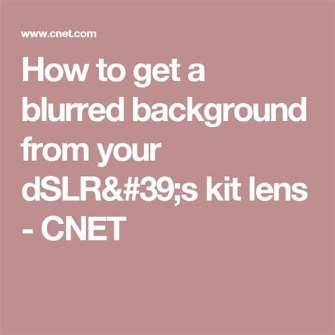 1000  ideas about How To Blur Background on Pinterest
