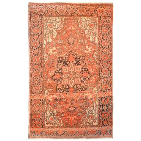 unique rugs for sale unique early 20th century sarouk farahan rug for sale at 1stdibs