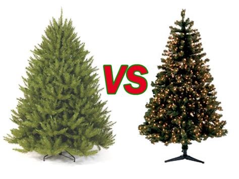 real christmas trees vs fake christmas trees a round