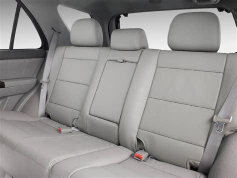How Many Seats In A Kia Sorento Image 2009 Kia Sorento 4wd 4 Door Ex Rear Seats Size
