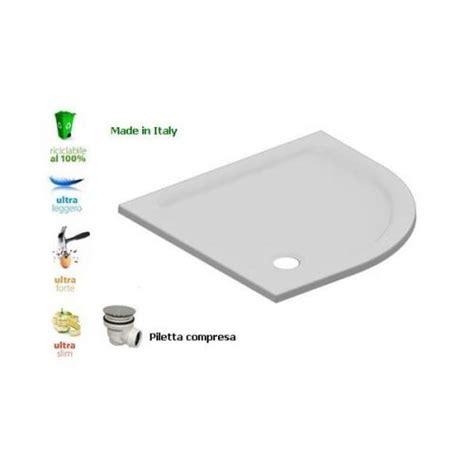 piatti doccia resina piatto doccia flat in resina alto 3cm semicircolare