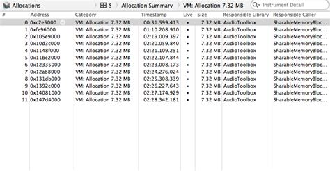 audio format for xcode ios how to free memory used by audiofilereadpacketdata
