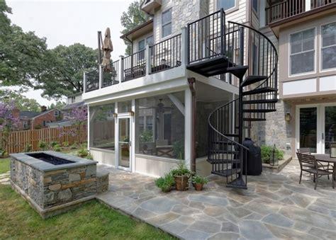 home designer pro porch arlington deck with screen porch spiral staircase