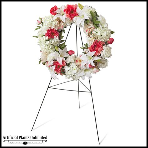 artificial wreaths artificial funeral flowers and wreaths