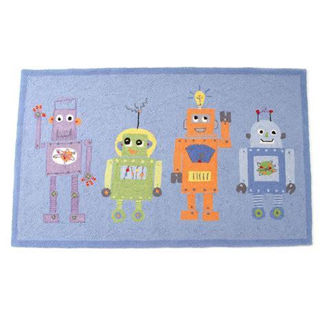 robot rug 4 robots rug the acorn