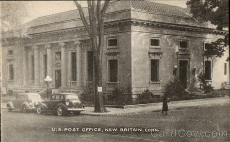 u s post office new britain ct postcard