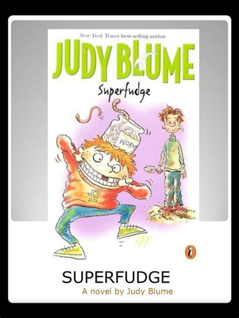 superfudge book report fudge a mania by judy blume ppt