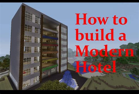 How To Get Build A Minecraft Hotel Tutorial