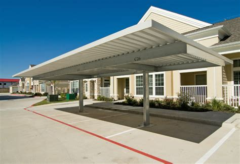 Awnings Lowes Cantilevered Carports Parking Canopies