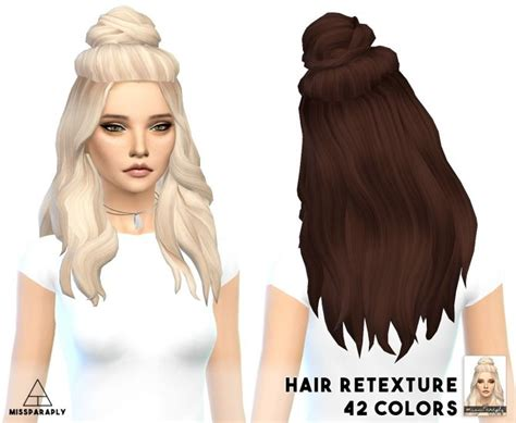 cc hair for sism4 30 best images about sims 4 hairstyles on pinterest ea
