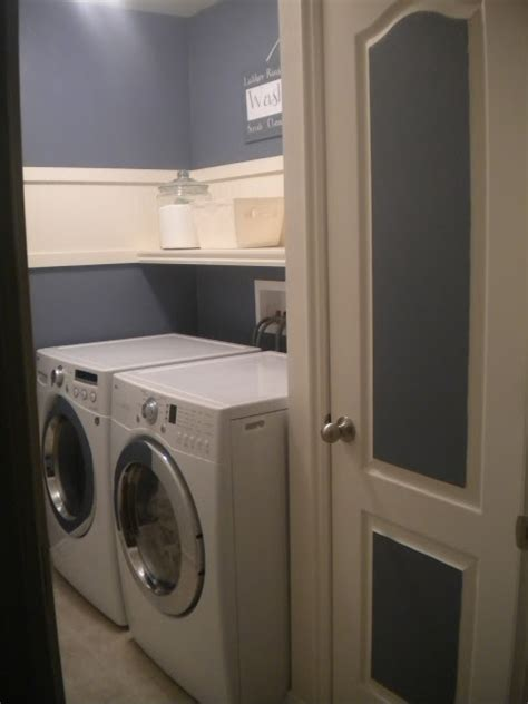 remodelaholic  ideas  small laundry spaces