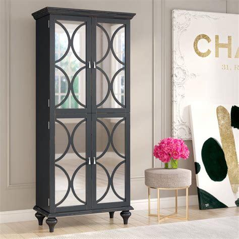 ingram tall mirrored wine bar cabinet wine bar cabinet