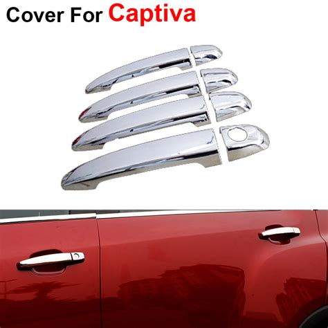 Car Cover Chevrolet Captiva 4pcslot stickers door handle for chevrolet captiva 2012 2013 2014 2015 accessories newest